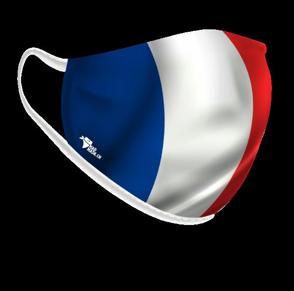 Masque drapeau français