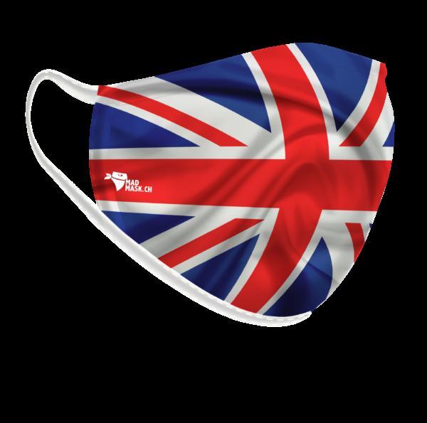 Maschera della bandiera del Regno Unito
