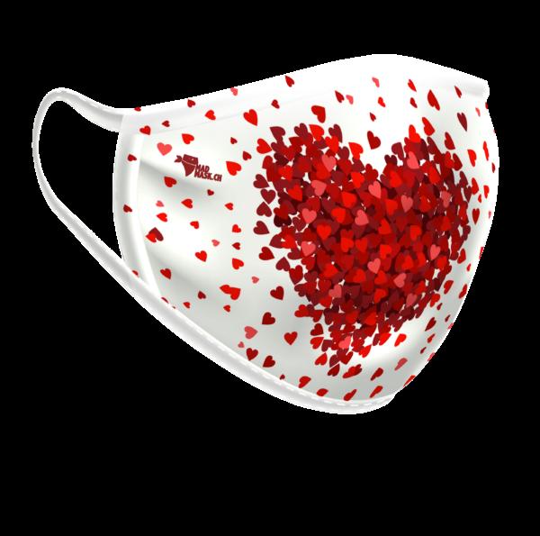 Máscara lavable Corazón