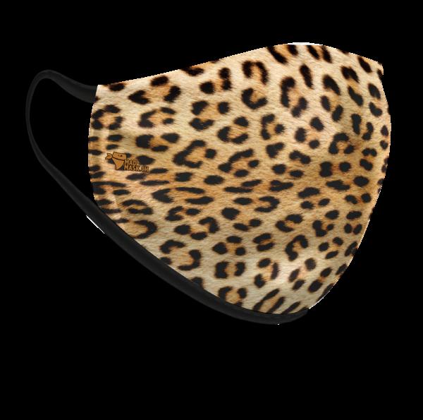 Masque lavable Léopard