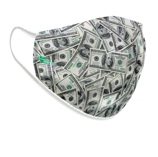 Masque lavable Dollar