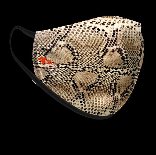 Masque lavable Serpent
