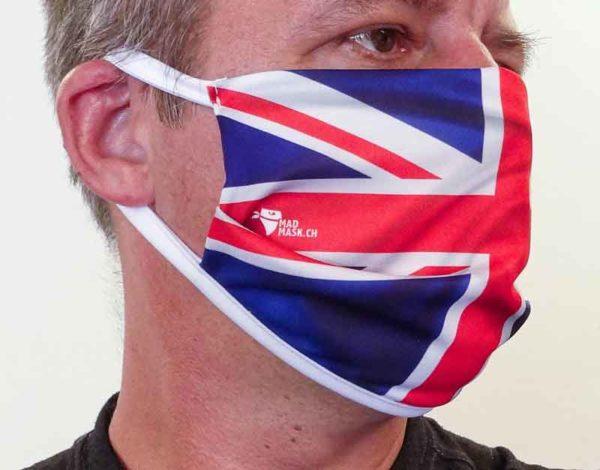 Masque drapeau UK
